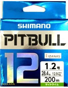 Shimano Pitbull 12 200m